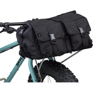 Surly Porteur House Bag - mounted on 24-pack front bike rack