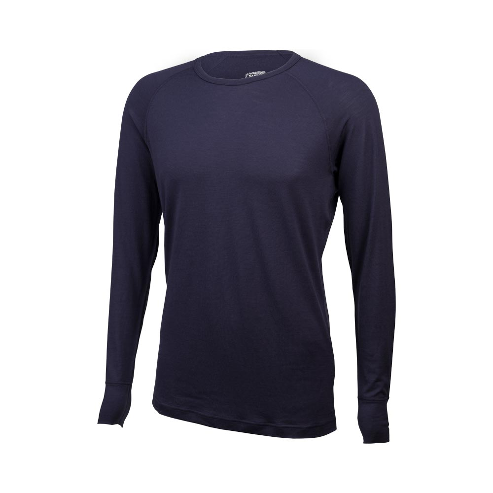 Surly Raglan Shirt: Blue