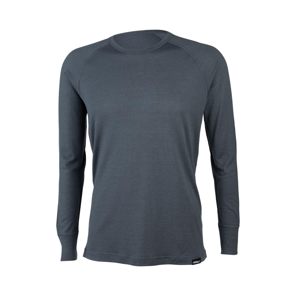Surly Raglan Shirt: Gray