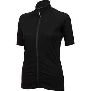 Surly Women's Merino Wool Short Sleeve Jersey, Black