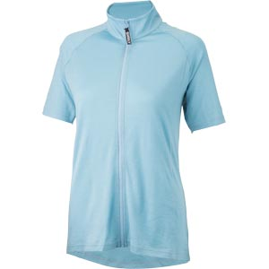 Surly Women's Merino Wool Short Sleeve Jersey, Tile Blue