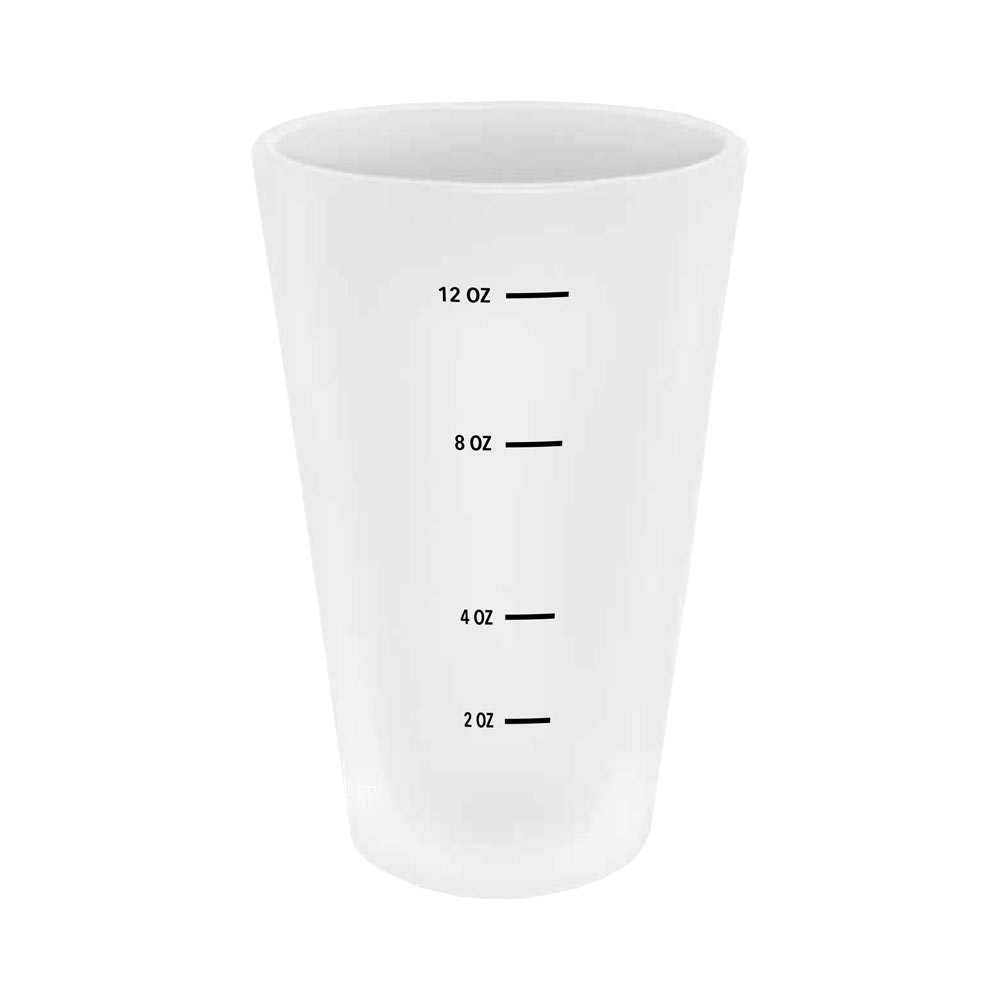 Surly Silicone Pint Glass measuring lines