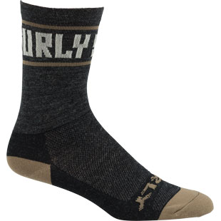 "Sports Logo 5"" Wool Sock"