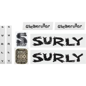 Surly Steamroller Decal Set, Black