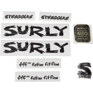 Surly Straggler Decal Set, Black