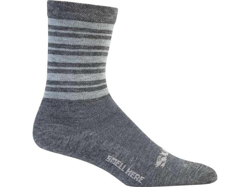 Surly Stripey Socks, gray