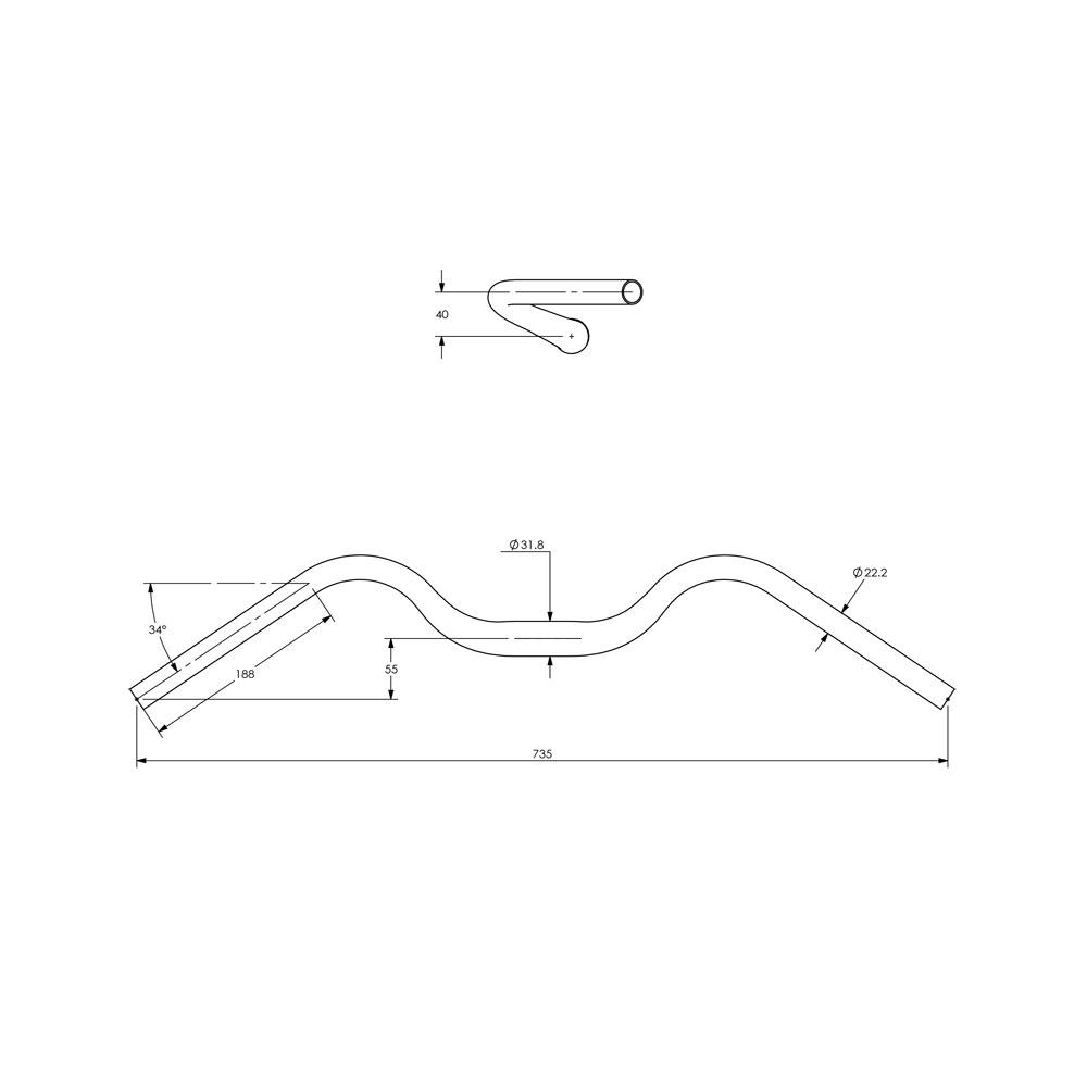 Surly Terminal Bar - Geometry