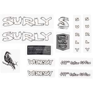 Wednesday Decal Set, white