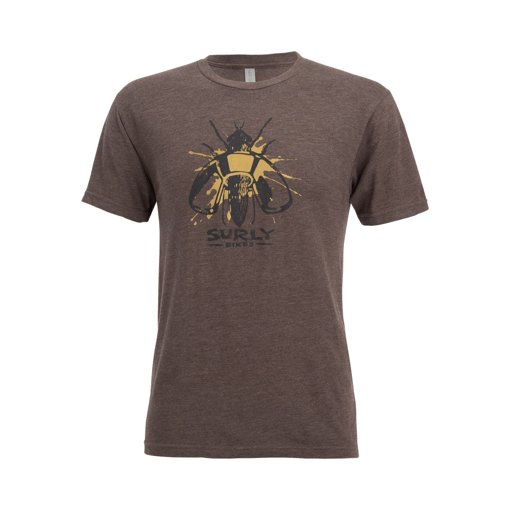 Surly Wingnut Men's Tee, Brown
