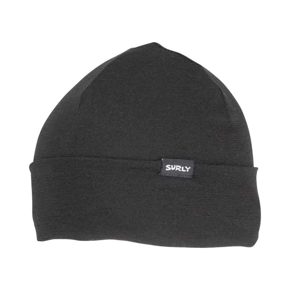 Surly Wool Beanie, Black